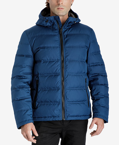 Michael Kors Men's Big & Tall Down Jacket - Coats & Jackets - Men ...