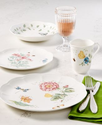 Lenox Dinnerware Butterfly Meadow Collection & Lenox Dinnerware Butterfly Meadow Collection - Dinnerware - Dining ...
