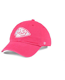 '47 Brand Women's Kansas City Chiefs Pastel CLEAN UP Cap