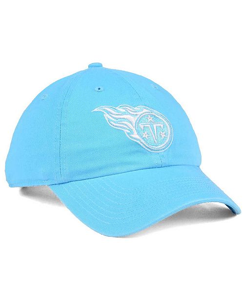sports shoes acc71 4c7a4 ... Cap   47 Brand Women s Tennessee Titans Pastel CLEAN UP ...
