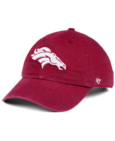 '47 Brand Denver Broncos Cardinal CLEAN UP Cap