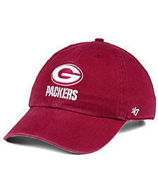 '47 Brand Green Bay Packers Cardinal CLEAN UP Cap