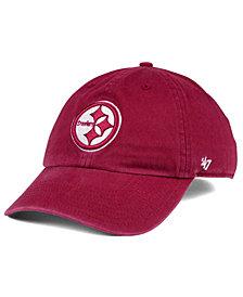 '47 Brand Pittsburgh Steelers Cardinal CLEAN UP Cap