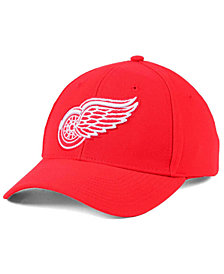 adidas Detroit Red Wings Core Basic Adjustable Snapback Cap
