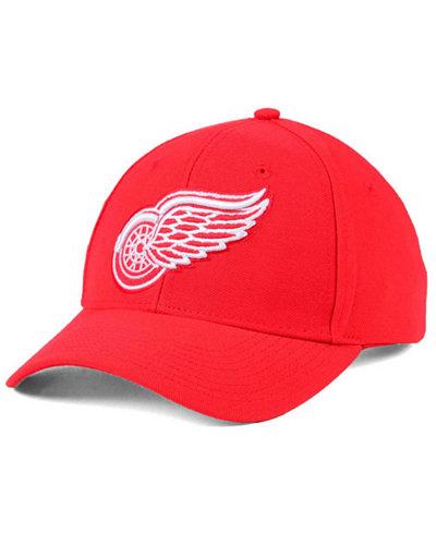 adidas Detroit Red Wings Core Basic Adjustable Snapback Cap