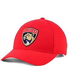 adidas Florida Panthers Core Basic Adjustable Snapback Cap