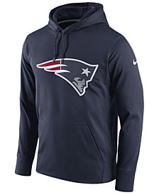 Nike Men's New England Patriots Performance Circuit Logo Essential Hoodie