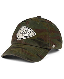 '47 Brand Kansas City Chiefs Regiment CLEAN UP Cap