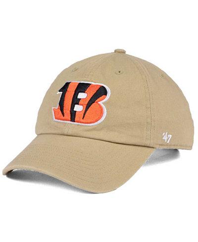'47 Brand Cincinnati Bengals Khaki CLEAN UP Cap