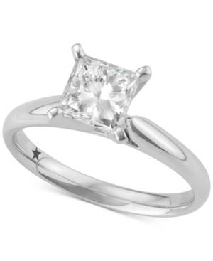 Princess Cut Solitaire Engagement Ring (1-1/2 ct. t.w.) in 14k White Gold