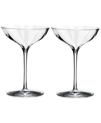 Optic Belle Coupe 6.7 Oz, Set of 2