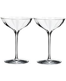 Waterford Elegance Optic Belle Coupes, Set Of 2