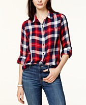8b021f27 Plaid Shirts For Women: Shop Plaid Shirts For Women - Macy's