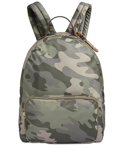 Tommy Hilfiger Julia Camo Large Dome Backpack