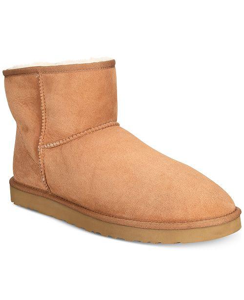 5bf698f1f6d UGG® Men's Classic Mini Boots & Reviews - All Men's Shoes - Men - Macy's
