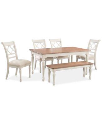 Mandara Round Dining Furniture Collection Furniture Macy s