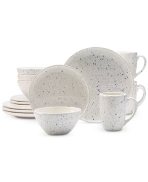 Tabletops Unlimited 16Pc Speckle Dinnerware Set