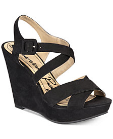 American Rag Rachey Platform Wedge Sandals, Created for Macy's