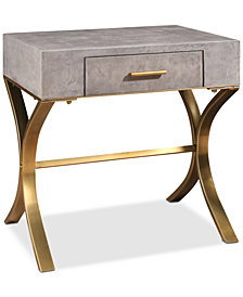 Briana End Table, Quick Ship