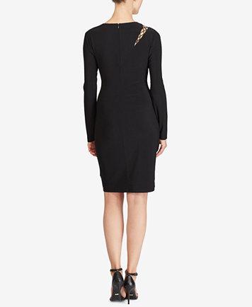 Image 2 of Lauren Ralph Lauren Cutout Jersey Dress