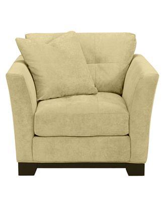 elliot fabric microfiber living room chair: custom colors