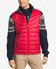 IZOD Men's Apex Quilted Full-Zip Puffer Vest