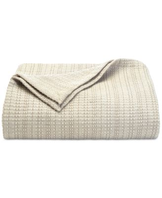 Tommy Bahama Bamboo Woven Cotton King Blanket