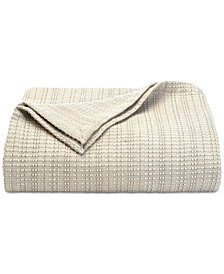 Tommy Bahama Bamboo Woven Blanket Collection