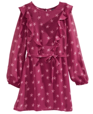 Tommy Hilfiger StarPrint Dress Big Girls (716)