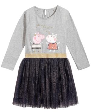 Peppa Pig GlitterPleat Dress Toddler Girls (2T5T)