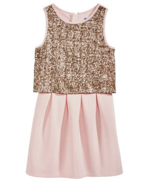 Epic Threads Pink Popover Dress, Big Girls, Created for Macy's 4934904