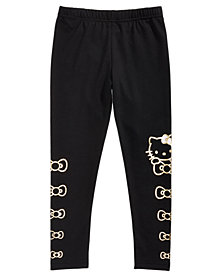 Hello Kitty Toddler Girls Foil-Print Leggings