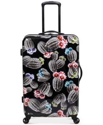 "Cactus Printed 25"" Hardside Spinner Suitcase"