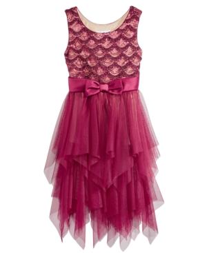 1920s Children Fashions: Girls, Boys, Baby Costumes Bonnie Jean Bonaz Cascade Sequin Dress Big Girls 7-16 $28.99 AT vintagedancer.com