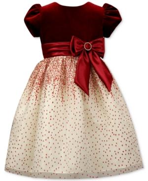 Jayne Copeland VelvetBodice Glitter Gown Little Girls (46X)