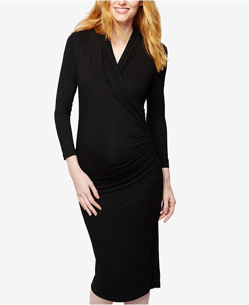 Isabella Oliver Maternity Wrap Dress
