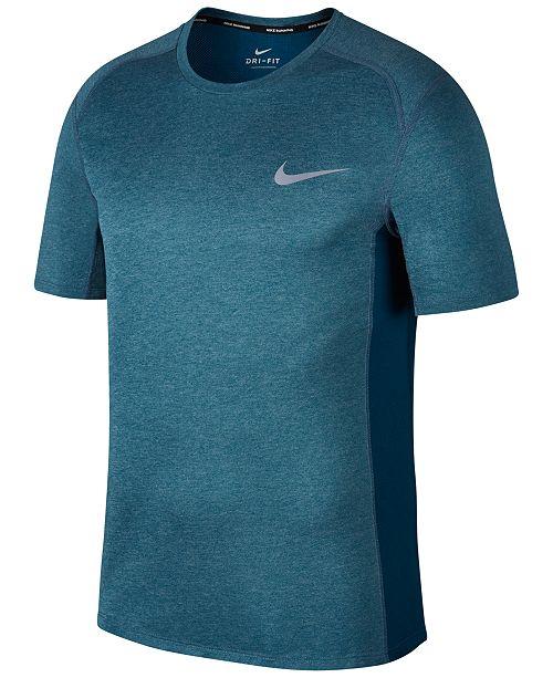 433d4f2b37600 Nike Men's Dry Miler Running T-Shirt; Nike Men's Dry Miler Running T- ...