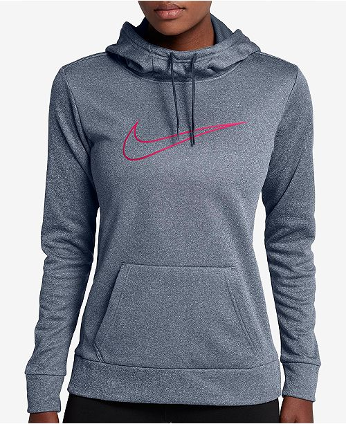 0d9aaa684bcd Nike Therma Training Hoodie   Reviews - Tops - Women - Macy s