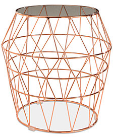 Gertrude End Table, Quick Ship