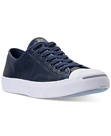 Converse Men's Jack Purcell Low-Top Casual Sneakers from Finish Line