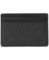 6c591f9481f189 Michael Kors Men's Jet Set Card Case