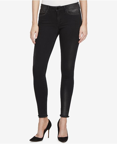 WILLIAM RAST Metallic Skinny Jeans
