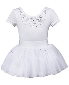 Flo Dancewear Diamante Leotard & Tutu, Little Girls & Big Girls