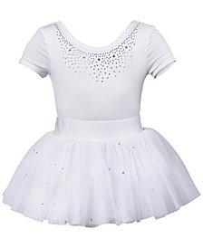 Flo Dancewear Diamante Leotard & Tutu, Little Girls & Big Girls