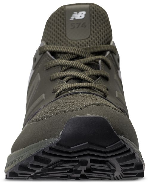 huge selection of 81cfc 88a8d New Balance Men's 574 Synthetic Casual Sneakers from Finish ...