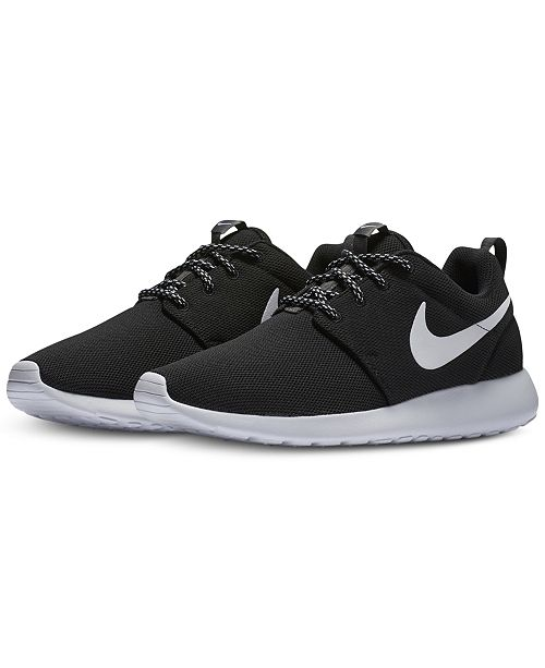 watch 41388 577be ... Nike Women s Roshe One Casual Sneakers from Finish ...