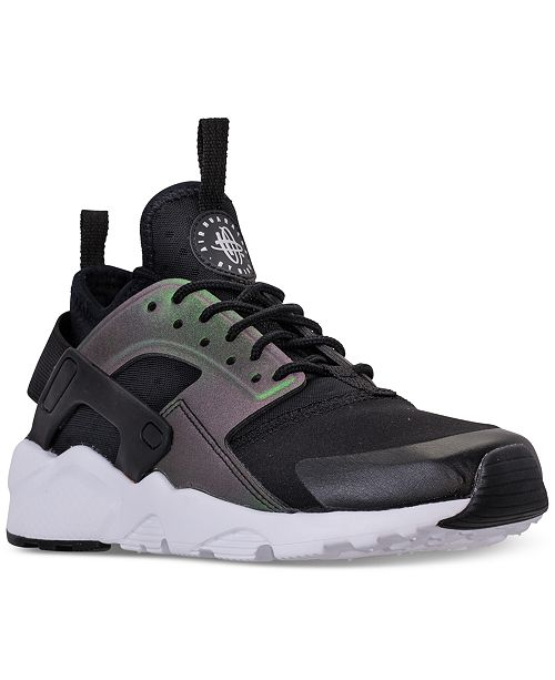 02e032e1a7 ... Nike Big Boys' Air Huarache Run Ultra SE Running Sneakers from Finish  ...