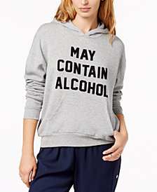 PROJECT SOCIAL T May Contain Alcohol Graphic Hoodie