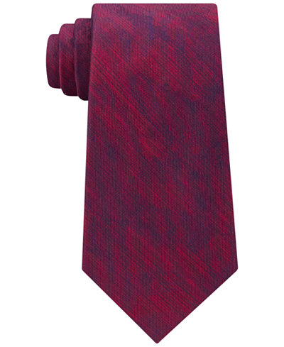Calvin Klein Men's Watercolor Silk Tie