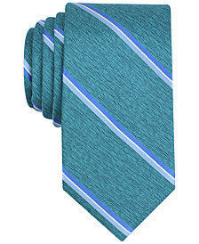 Perry Ellis Men's Jeffers Stripe Silk Tie